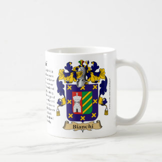 Bianchi, the Origin, the Meaning and the Crest Coffee Mug