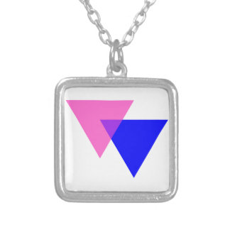Biangles Square Pendant Necklace