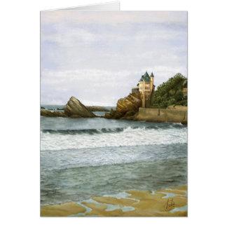 Biarritz. Card