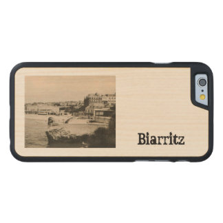 Biarritz - Casino on the beach Carved Maple iPhone 6 Slim Case