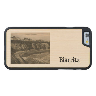 Biarritz Côte des Basque France Carved® Maple iPhone 6 Slim Case