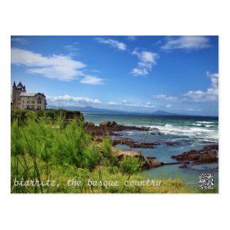 Biarritz, el país vasco postales