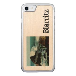 Biarritz fRANCE La tempête THE TEMPEST Carved iPhone 8/7 Case