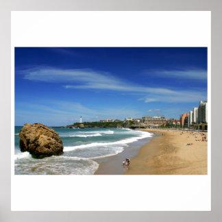 Biarritz la gran gama póster