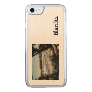 Biarritz Le Phare France Lighthouse Carved iPhone 8/7 Case
