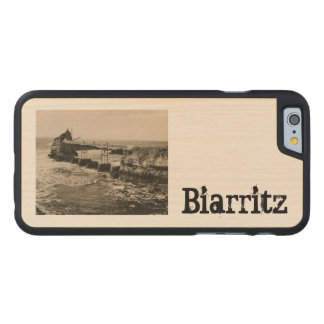 Biarritz Pont et Rocher Carved Maple iPhone 6 Slim Case