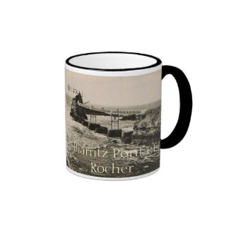 Biarritz Pont et Rocher Ringer Coffee Mug