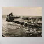 Biarritz Pont et Rocher Poster