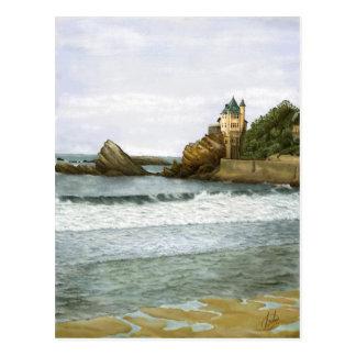 Biarritz. Postcard