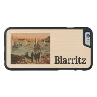 BIARRITZ - Régates au Port Vieux Carved® Maple iPhone 6 Case