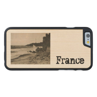 BIARRITZ - Rocher de la Virge France 1920 Carved Maple iPhone 6 Slim Case