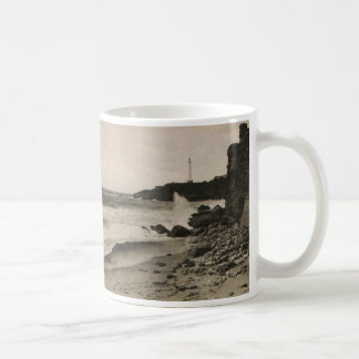 BIARRITZ - Rocher de la Virge France 1920 Coffee Mug