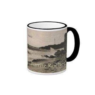 BIARRITZ - Rocher de la Virge France 1920 Ringer Mug
