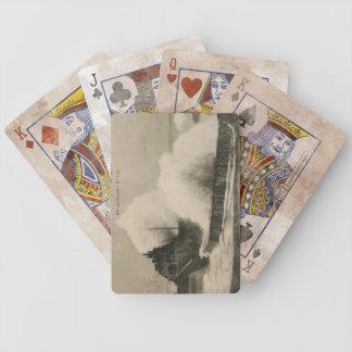 Biarritz Ruse de Marée Tempest 1920 Bicycle Playing Cards
