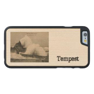 Biarritz Ruse de Marée Tempest 1920 Carved Maple iPhone 6 Case