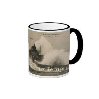 Biarritz Ruse de Marée Tempest 1920 Ringer Coffee Mug