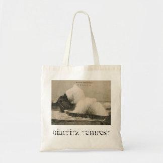 Biarritz Ruse de Marée Tempest 1920 Tote Bag