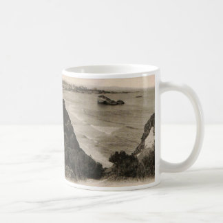 Biarritz seaside france replica 1910 coffee mug