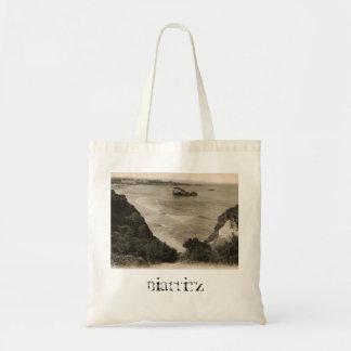 Biarritz seaside france replica 1910 tote bag
