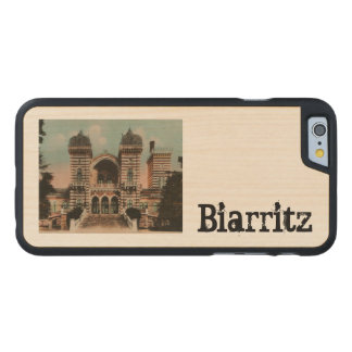 Biarritz Thermes Thermal Spa Carved® Maple iPhone 6 Case
