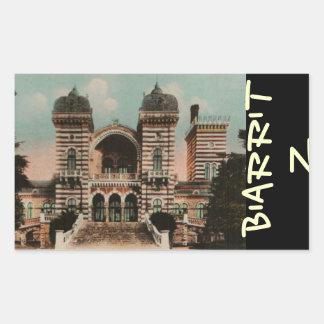 Biarritz Thermes Thermal Spa Rectangular Sticker