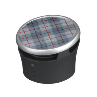 Bias Plaid Blue-Red Stripe Speaker