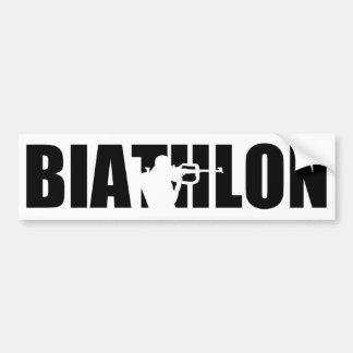 Biathlon Bumper Sticker