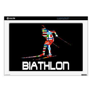 "Biathlon Decals For 17"" Laptops"