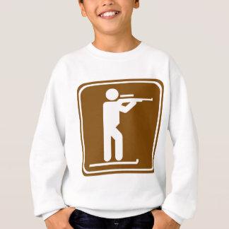 Biathlon Highway Sign Sweatshirt