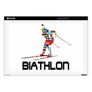Biathlon Laptop Decals
