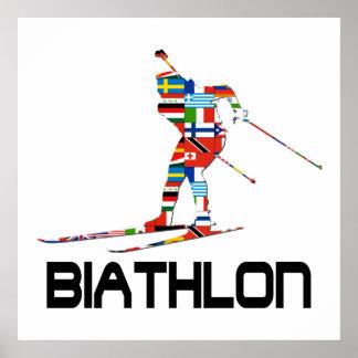 Biathlon Poster