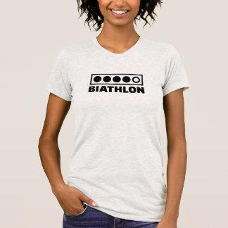 Biathlon target tshirts