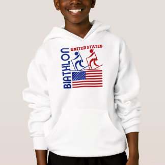 Biathlon United States Hoodie