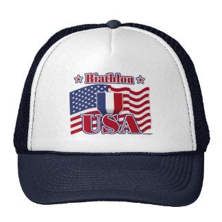 Biathlon USA Hats