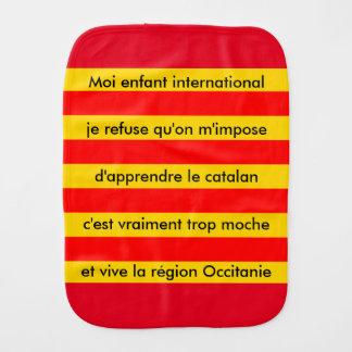 bib Catalan anti baby Burp Cloth