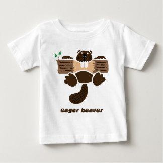 biber beaver otter eager t-shirts