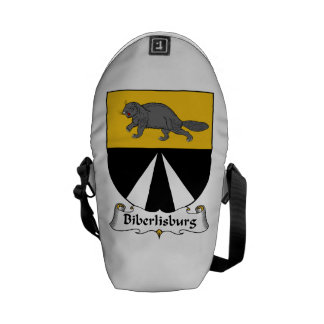 Biberlisburg Family Crest Courier Bag