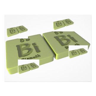 Bibi as Bismuth Bi and Bismuth Bi Letterhead