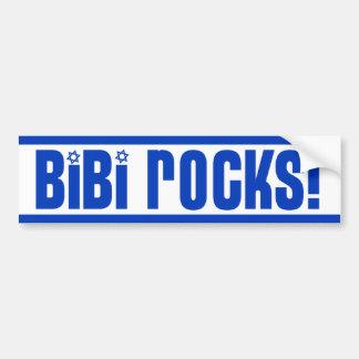 BiBi Rocks - Pro Israel Bumper Stickers