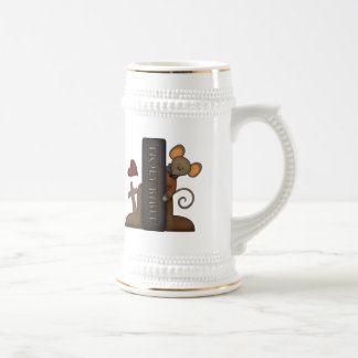 Bible and Mouse Beer Stein