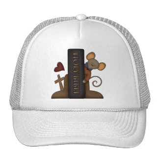 Bible and Mouse Trucker Hat