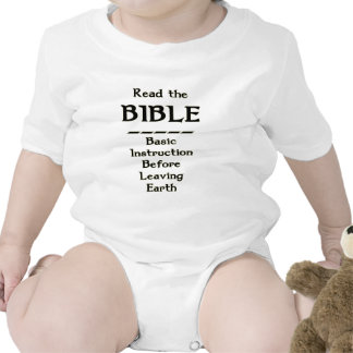Bible - Basic Instruction Before Leaving Earth Bodysuits