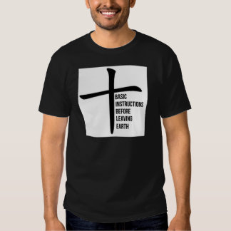 BIBLE: Basic Instructions Before Leaving Earth T-Shirt