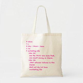 Bible book bag