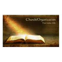 Bible-Christianity-Religious Business Card