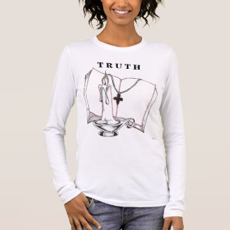 Bible drawing/ T R U T H Long Sleeve T-Shirt