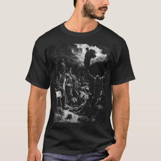 Bible: Ezekiel's Resurrection - Gustave Dore T-Shirt