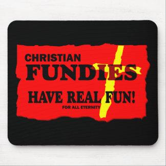 Bible Fundamentalists Mouse Pad