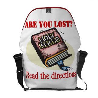 BIBLE GIVES ME DIRECTION MESSENGER BAG