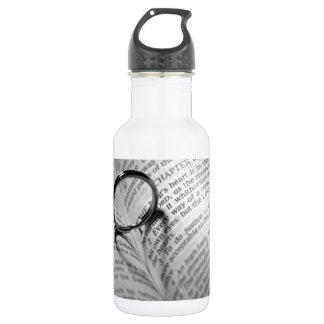 Bible heart shadow 18oz water bottle